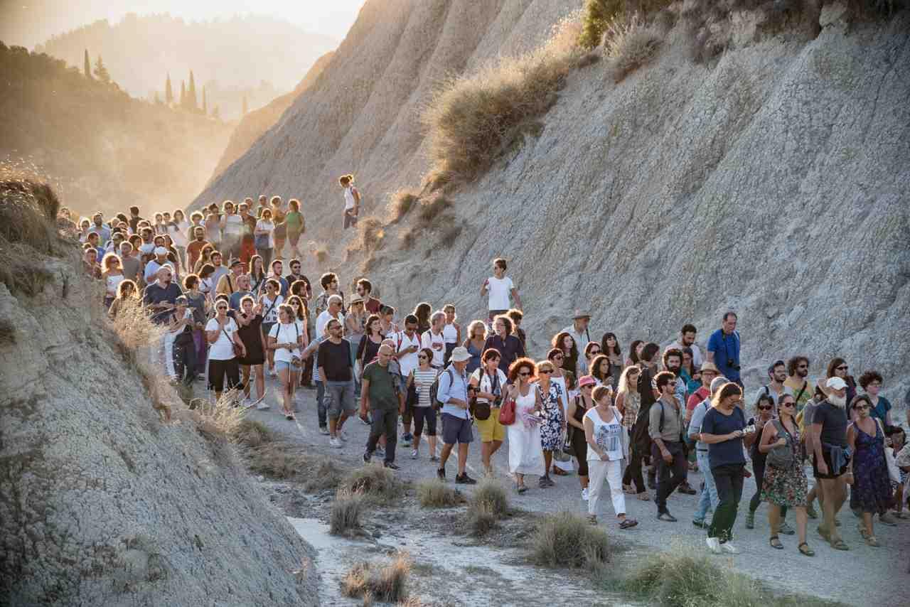 il popolo dei calanchi in movimento