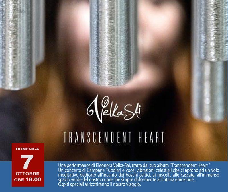 7 ottobre, Teatro Arciliuto, Velka Sai – Transcendet Heart